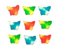 Jelly butterfly Stock Images
