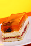 Jelly cake Stock Photography