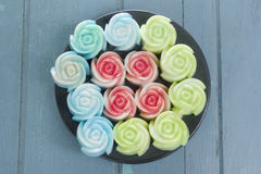 Jelly cake Stock Photos
