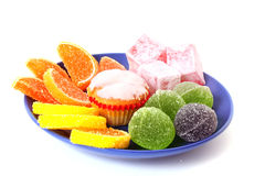 Jelly cakes Stock Images