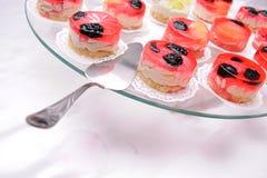 Jelly cakes Royalty Free Stock Photos