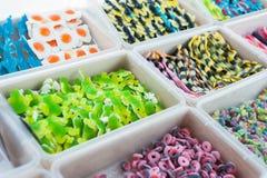 Jelly cancandies shop Stock Photos