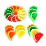 Jelly candies Royalty Free Stock Photography