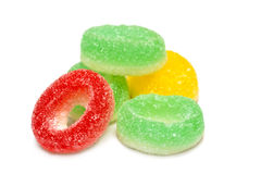 Jelly candies Royalty Free Stock Images