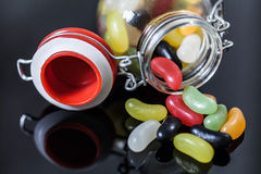 Jelly Candies Lizenzfreies Stockbild