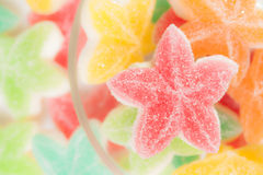 Jelly candies star Stock Image