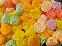 Jelly candy. In all colors Stock Images