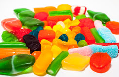 Jelly candy. Assorted colorful jelly candy Royalty Free Stock Photos