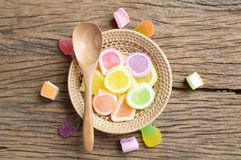 Jelly candy dessert Royalty Free Stock Photo