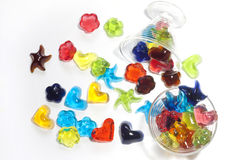 Jelly candy homemade Royalty Free Stock Photos