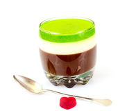 Jelly Chocolate, Granaatappel, Kers, Kiwi, Melk Stock Fotografie
