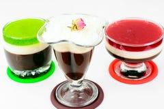Jelly Chocolate, Granaatappel, Kers, Kiwi, Melk Royalty-vrije Stock Afbeelding