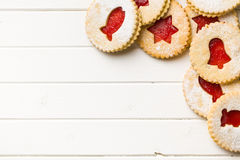 Free Jelly Christmas Cookies Stock Photography - 34975932