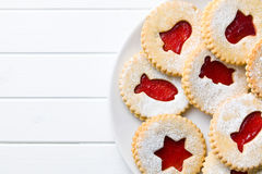 Free Jelly Christmas Cookies Stock Photography - 34976032