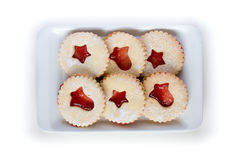 Jelly christmas cookies Stock Photography