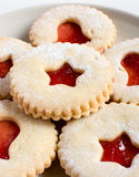 Jelly christmas cookies Stock Images