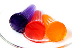 Jelly. The closeup of colorful jelly royalty free stock photos