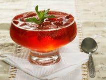 Jelly com morango Imagem de Stock Royalty Free