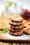Jelly cookies Royalty Free Stock Photos