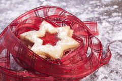 Jelly cookies star Royalty Free Stock Image