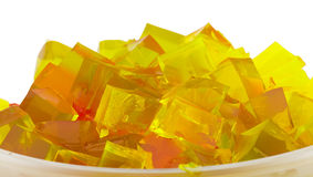 Jelly cubes Royalty Free Stock Image