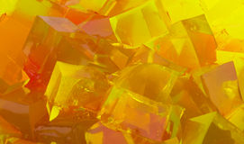 Jelly cubes Royalty Free Stock Images