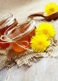 Jelly of dandelions Stock Image
