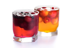 Jelly dessert Stock Images