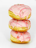 Jelly doughnut Stock Images