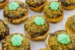 Jelly doughnut / sofgania  - Jewish holiday Hanukkah Royalty Free Stock Image