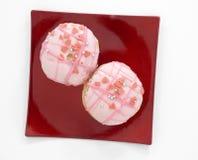 Jelly doughnut Stock Photo