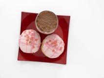 Jelly doughnut Stock Photography