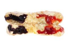 Jelly doughnuts isolated Stock Photography