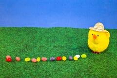 Jelly Egg Farmer Royalty Free Stock Photo