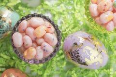 jelly fasoli Wielkanoc jaj Obrazy Royalty Free