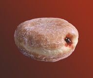 Jelly Filled Donut Stock Image