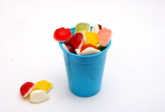 Jelly  Flavor Fruit, Candy Dessert , Bonbons Royalty Free Stock Images