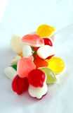 Jelly  Flavor Fruit, Candy Dessert , Bonbons Royalty Free Stock Photos