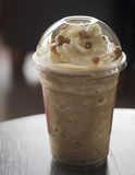 Jelly Frappuchino coffee royalty free stock photography