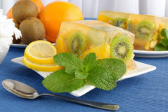Jelly fruit Stock Images