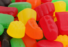 Jelly Fruit Candy Stock Photography