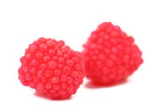 Jelly fruit in form of berries candy. Stock Image