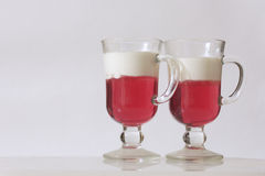 Jelly in a glass Royalty Free Stock Images