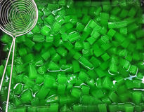 Jelly green color Royalty Free Stock Photography