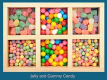 Jelly and Gummy Candies Stock Photo