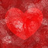 Jelly heart Stock Images