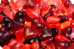 Jelly heart Royalty Free Stock Photography