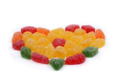Jelly hearts Royalty Free Stock Photos