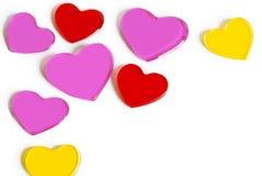 Jelly Hearts Royalty Free Stock Photography