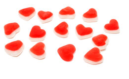 Jelly Hearts photo libre de droits